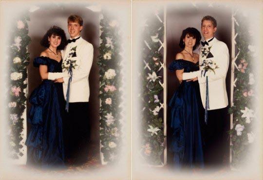 Sarah and Jim 1989 & 2011 Boston