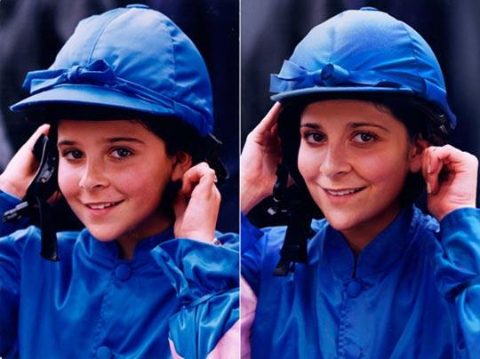 Lea T 1995 & 2011 Paris