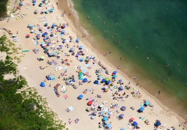 Montauk beach east hampton new-york
