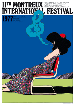 affiche-festival-jazz-montreux-1977