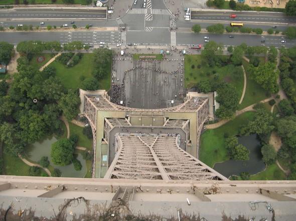 Au sommet de la Tour Eiffel