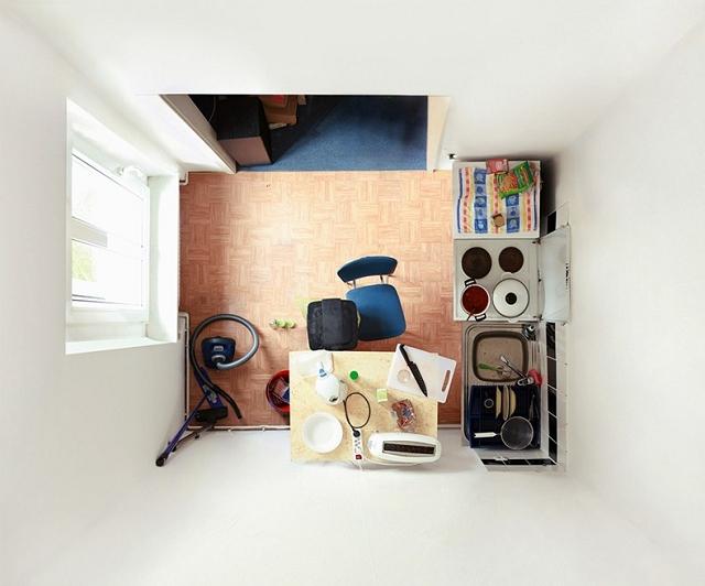 Portraits de chambres par Menno Aden