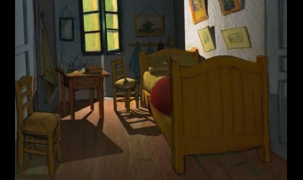 tableaux- Van Gogh- anime- 3D