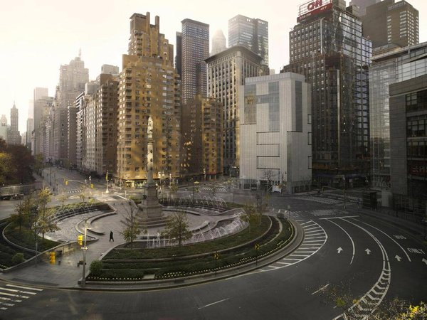 New York, Columbus circle