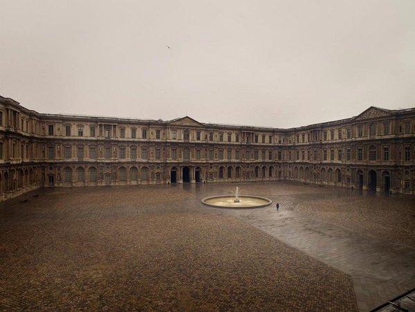 Paris, Cour carrée du Louvre