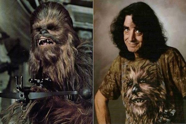 ChewbaccaPeter Mayhew, Star Wars (1977, 1980, 1983, 2005)
