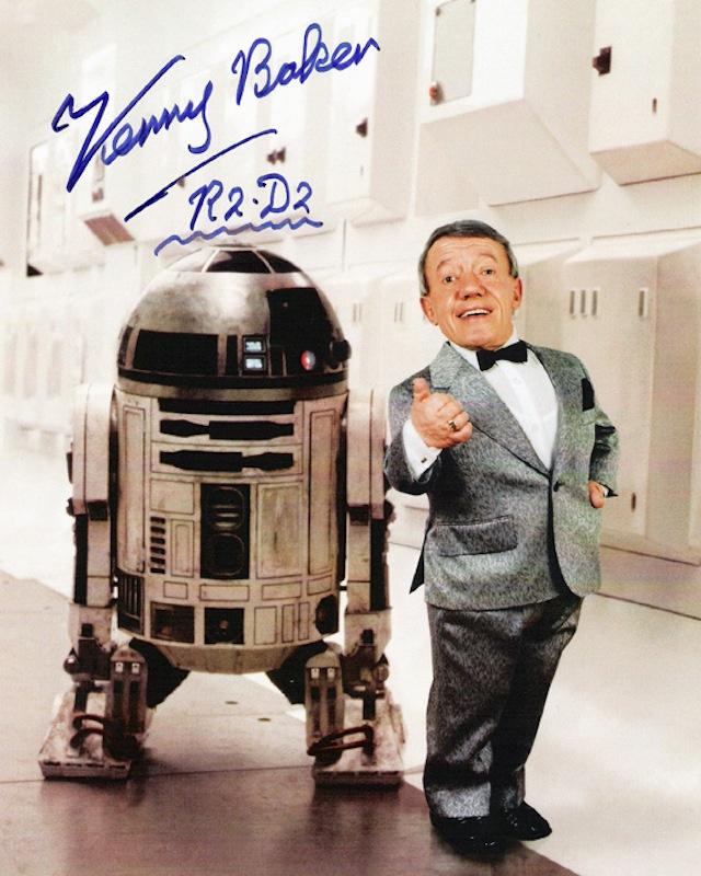 Kenny Baker, R2D2 (Star Wars)
