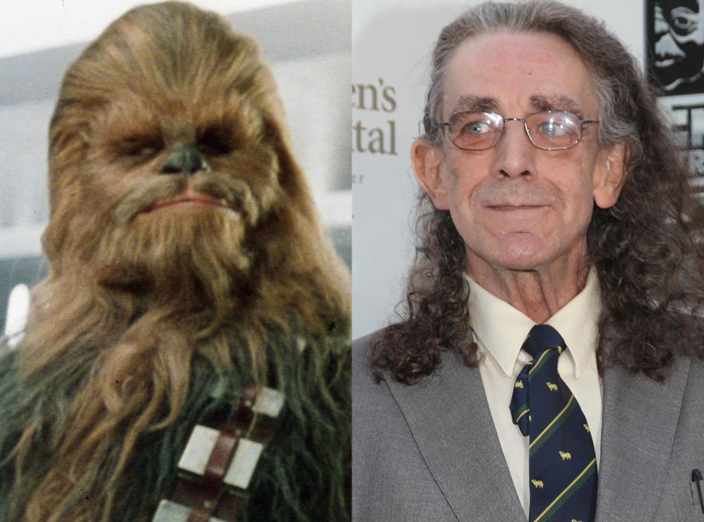 Peter Mayhew, Chewbacca (Star Wars III, IV, I et VI)
