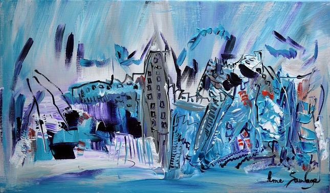 1. la tour grise de blue island