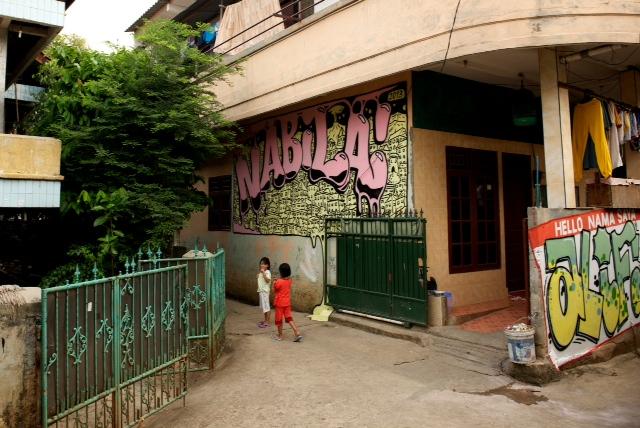 Graffitis Jakarta - SebToussaint 2