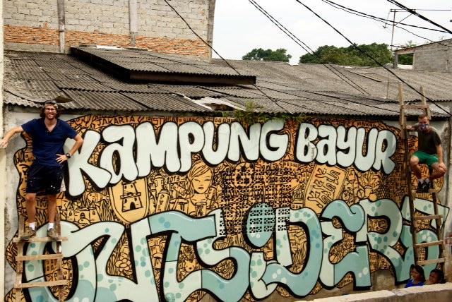Graffitis Jakarta - SebToussaint