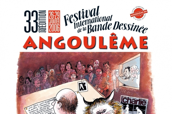 Affiche-Salon-bande-dessinee-angoulemes-2006-Gearges-Wolinski-