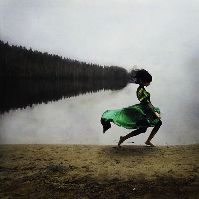 Honorable Mention expérimentale: Running With the Fairies Photo: Kuilli Sparre (Estonie)
