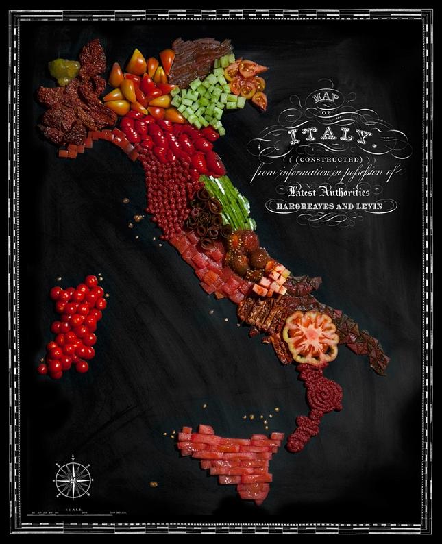 Italie-Nouriture-carte