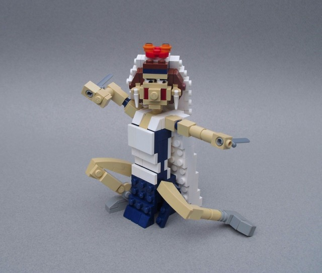 LEGO--Princess-Mononoke