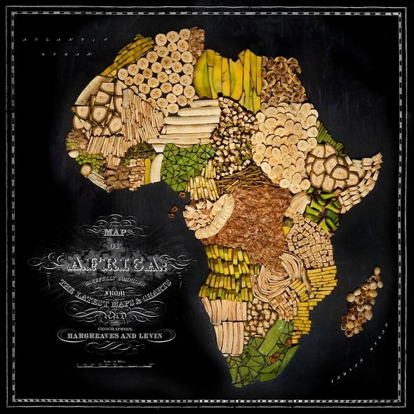 Nouriture-carte-Afrique