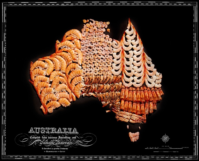 Nouriture-carte-Australie