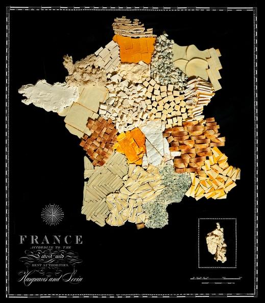 Nouriture-carte-France