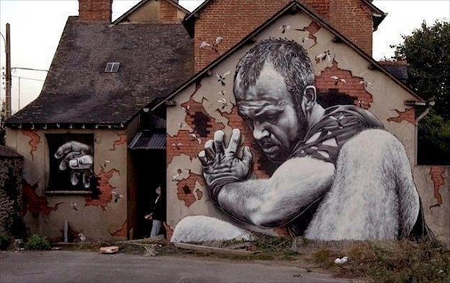 House-Graffiti-illusion