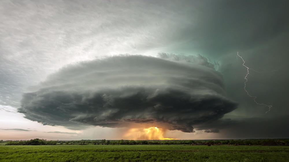 orage supercellulaire