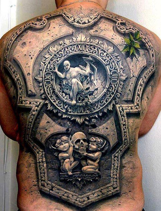 tatouages en 3 dimensions
