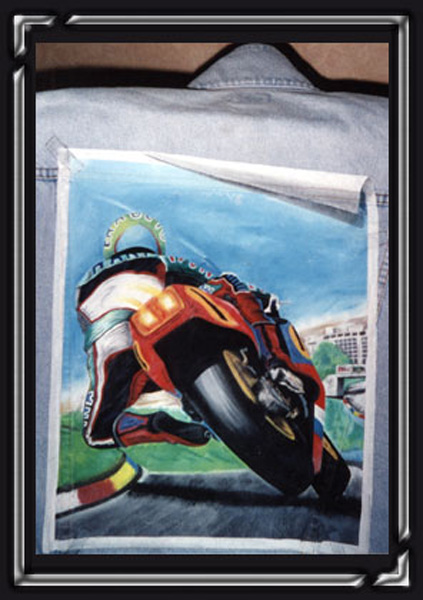 Peintures sur tissu, bois et dessins - Eric Picard-1