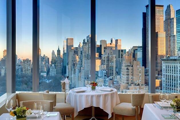 Restaurant-insolite-Asiate New York USA