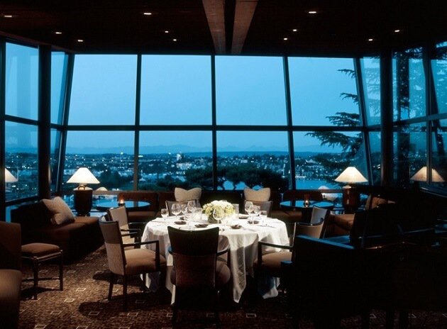 Restaurant-insolite-Canlis, Seattle, USA