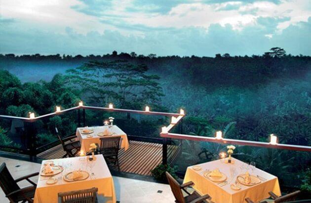 Restaurant-insolite-La View, Ubud, Bali