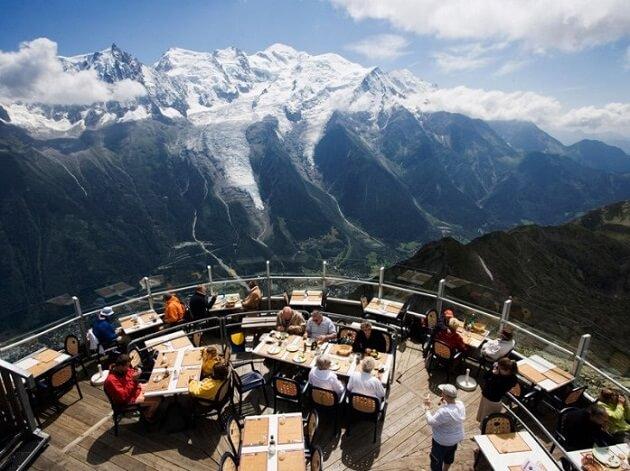 Restaurant-insolite-Le Panoramic, Chamonix, France