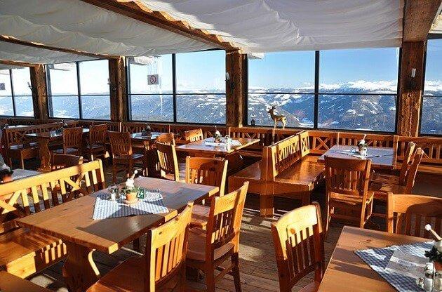 Restaurant-insolite-Panorama Alm, Mauterndorf, Autriche
