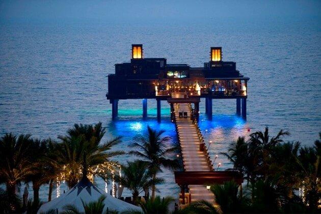 Restaurant-insolite-Pierchic, Dubai, Émirats arabes unis