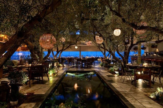 Restaurant-insolite-Soho House, West Hollywood, USA