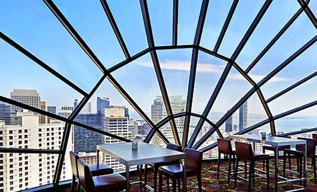 Restaurant-insolite-The View, San Francisco, USA