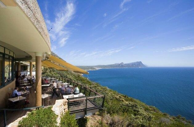 Restaurant-insolite-wo Oceans, Cape Point, Afrique du Sud