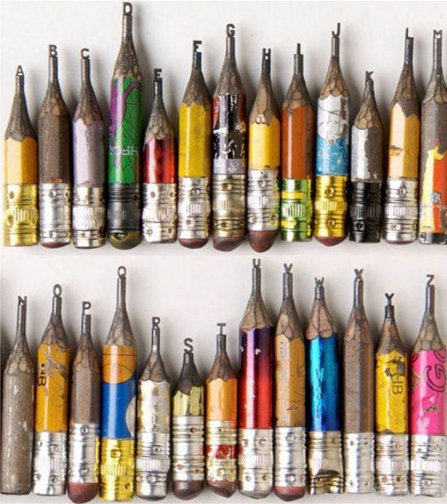 Sculpture-mine-crayon-Dalton-Ghetti-1