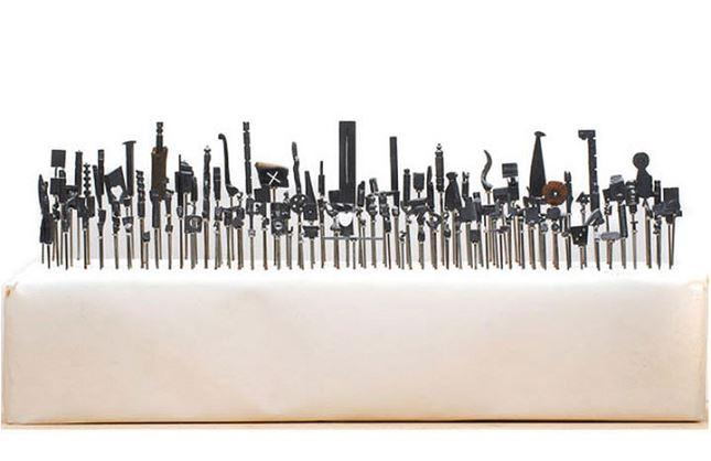 Sculpture-mine-crayon-Dalton-Ghetti-3