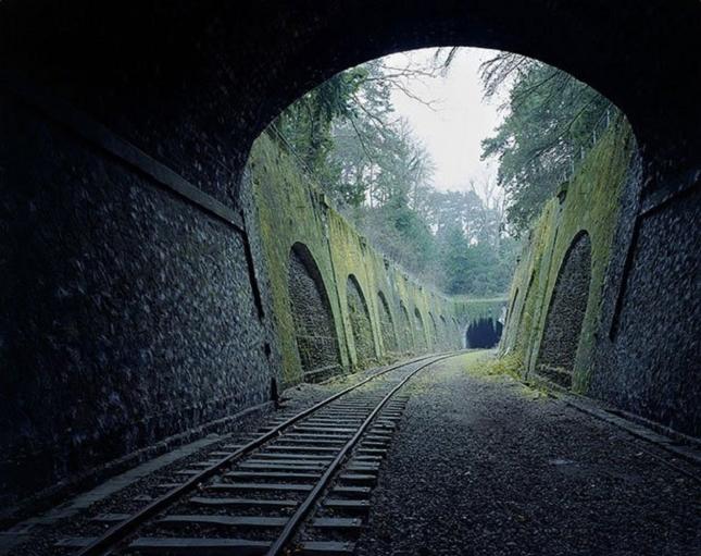 Ligne ferroviaire à Paris