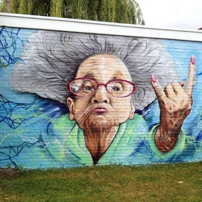 Street-Art -SMOK