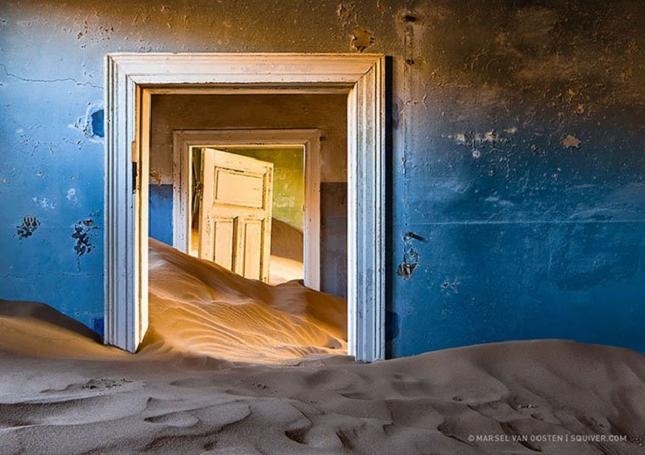 Une ville minière abandonnée - Namibie