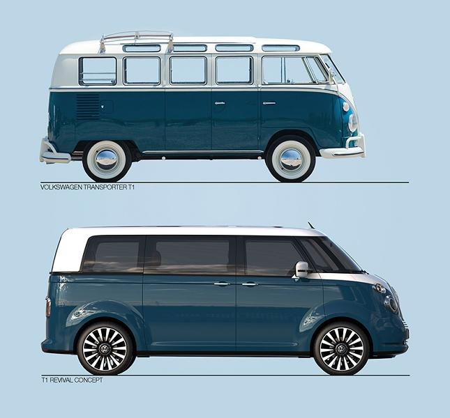 combi Volkswagen T1- nouveau model-1
