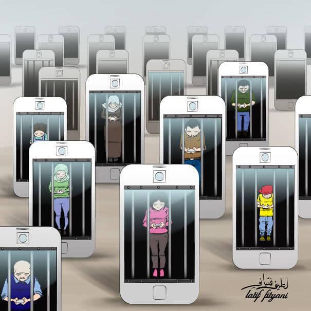 smartphones-addiction-Humour-14