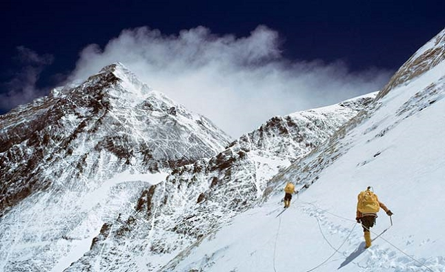 Ascension du mont Everest, au Népal