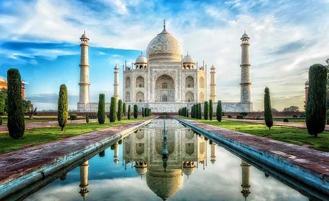 LE Taj Mahal en Inde à couper le souffle