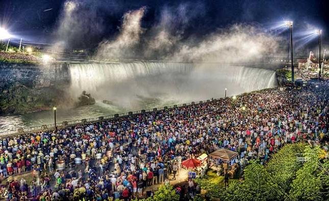 Les chutes du Niagara realite