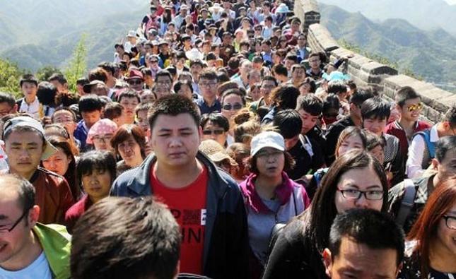 Marcher sur la Grande Muraille de Chine Réalité