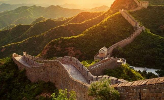 Marcher sur la Grande Muraille de Chine