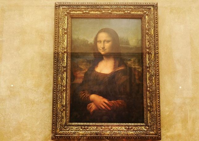 Mona Lisa au Musée du Louvre à Paris