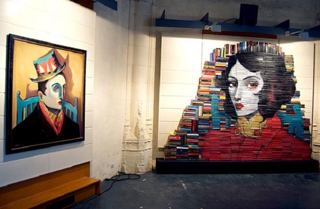 peintures sur livre-2