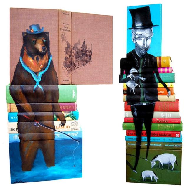 peintures sur livre-7